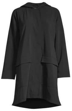 Eileen Fisher Woven A-Line Jacket