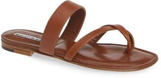 Manolo Blahnik Slide Sandal