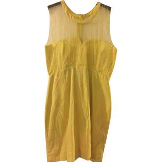 The Kooples Yellow Cotton Dress for Women