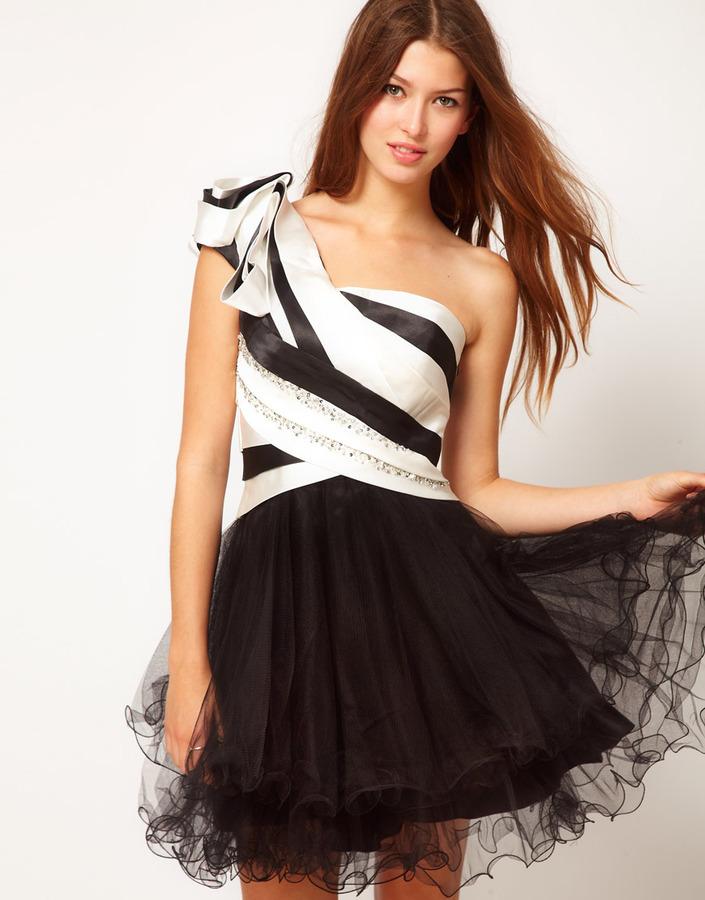 Forever Unique One Shoulder Prom Dress