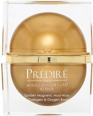 Predire Paris Luxury Skincare Golden Magnetic Mud Mask Collagen & Oxygen Booster (1.69 OZ)