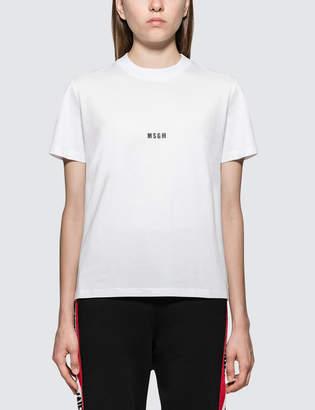 MSGM Micro Logo Short Sleeve T-Shirt