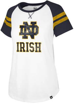 '47 Women's Notre Dame Fighting Irish Fly Out Raglan T-Shirt