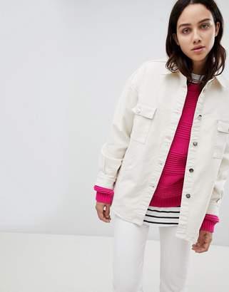 Mads Norgaard Oversized Denim Shirt Jacket