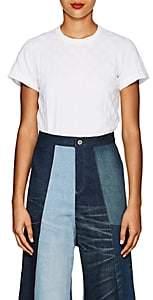 Comme des Garcons Women's Polka Dot Cotton T-Shirt - White