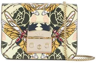 Furla Metropolis dragonfly print shoulder bag