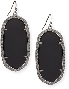 Kendra Scott Danielle Statement Drop Earrings $65 thestylecure.com