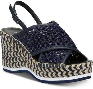 Donald J Pliner Lotti Wedge Sandals Women Shoes