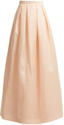 Andrew Gn Full silk-organza skirt