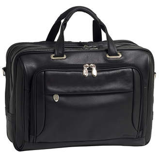 McKlein West Loop Expandable Double Compartment Briefcase
