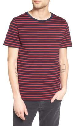 AG Jeans Julian Stripe Crewneck T-Shirt