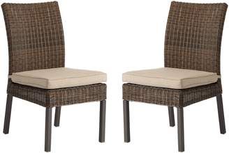 Sonoma Goods For Life SONOMA Goods for Life Brampton Outdoor Armless Dining Chair 2-piece Set