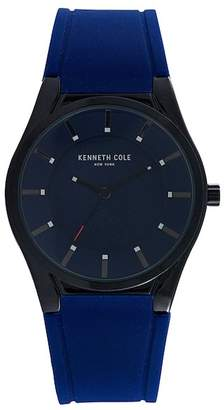 Kenneth Cole New York Men's Silicone Watch, 44mm