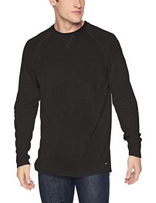 RVCA Men's Undertone Raglan 3/4 Sleeve Crew Neck Shirt