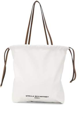 Stella McCartney logo print tote bag