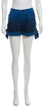 Marc by Marc Jacobs Ombré Tie-Accented Shorts
