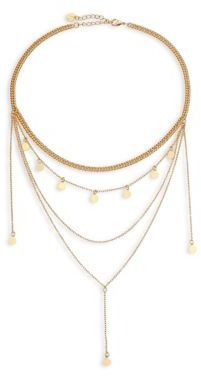 Jules Smith Layered Chain Necklace $75 thestylecure.com