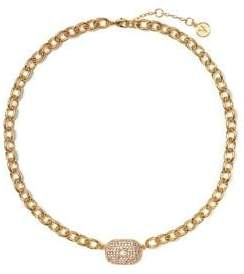 Vince Camuto Crystal Chain-Linked Necklace