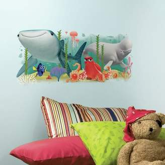 Room Mates Finding Dory and Friends Peel and Stick Giant Wall Decal