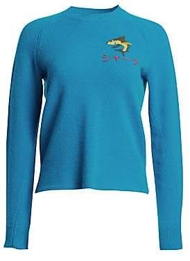 Rag & Bone Women's Storm Shark Wool Sweater