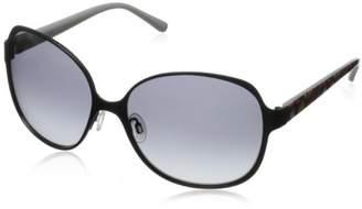 Kensie Women's Check Me In Square Sunglasses