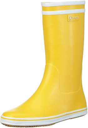 Aigle Women Malouine Wellington Boots, Yellow (Jaune), 5.5 UK (39 EU)