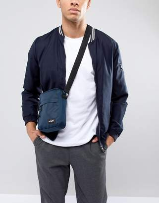 French Connection Flight Bag In Navy