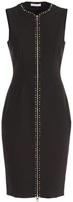 Versace Front Zipped Dress