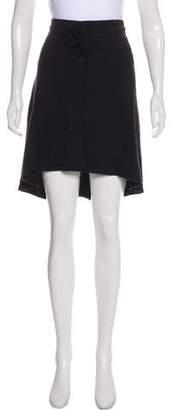 James Perse Asymmetrical Knee-Length Skirt