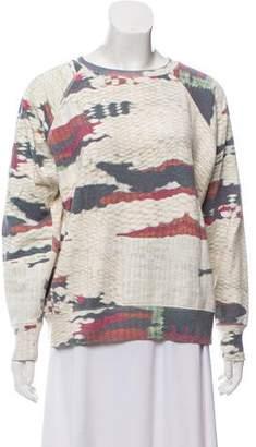 Etoile Isabel Marant Scoop Neck Printed Sweatshirt