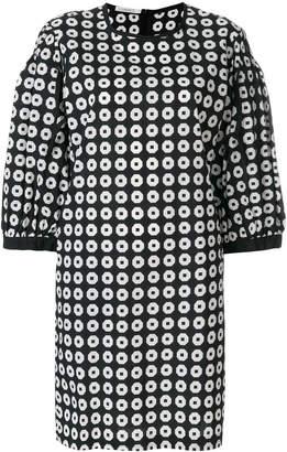 Lareida all-over print dress