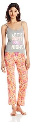 Carnival Women's Cami Top and Long Pant Pajama Set