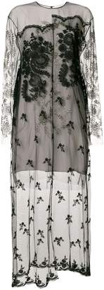 Stella McCartney embellished sheer lace dress