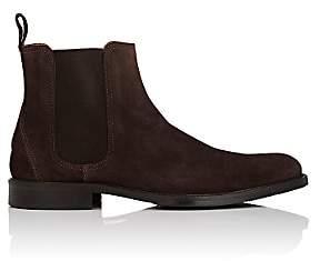 Barneys New York Men's Plain-Toe Chelsea boots - Brown
