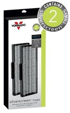 Vornado MD1-0024 Replacement Silver Screen Trays (2-Pack)