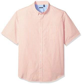 Izod Men's Big and Tall Saltwater Breeze Short Sleeve Shirt