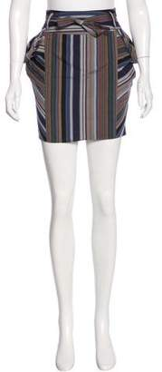 Kenzo Girls' Striped Knee-Length Skirt w/ Tags