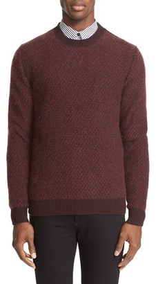 Men's Givenchy Mohair Blend Fishnet Pullover $1,195 thestylecure.com