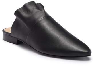 Free People Sienna Leather Ruffle Mule