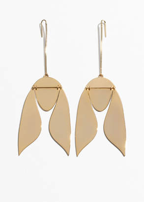Hanging Tulip Earrings