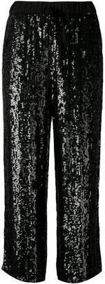 P.A.R.O.S.H. sequinned tapered trousers