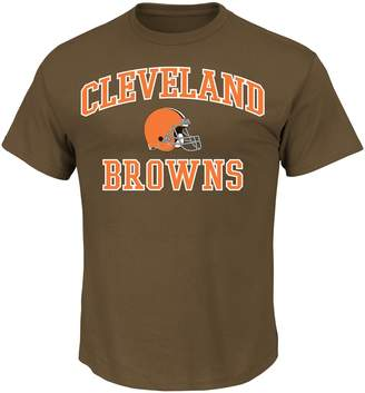 Majestic Men's Cleveland Browns Heart & Soul Tee