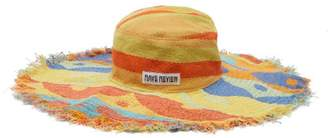 Rave Review - Hatty Cotton Terry Towelling Hat - Womens - Multi