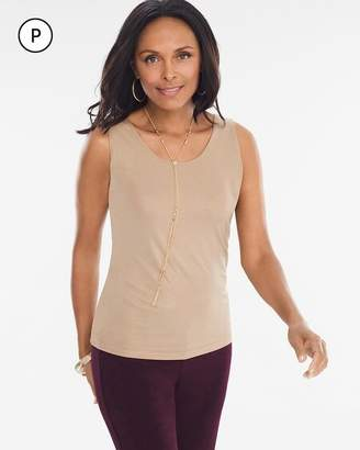 Chico's Chicos Petite Shimmer Tank
