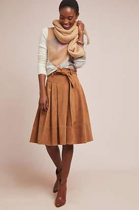 White + Warren Colorblocked Cashmere Sweater