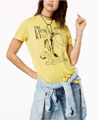Mighty Fine Juniors' The Lion King Graphic-Print T-Shirt