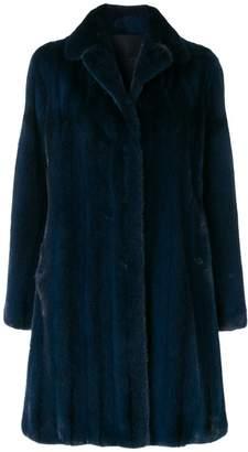Liska classic winter fur coat