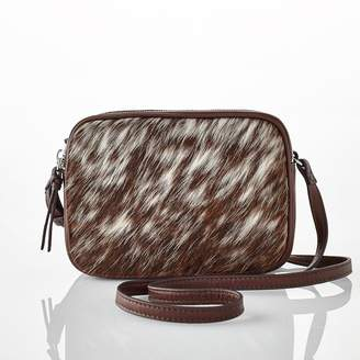 Mark And Graham The Essential Crossbody Bag, Hide Hair