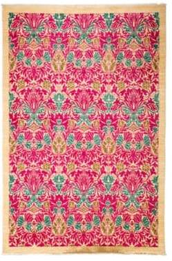 Solo Rugs Arts Collection Handmade Wool Rug