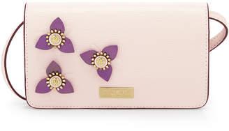 Henri Bendel West 57Th Flower Appliqued Xl Smartphone Case Crossbody